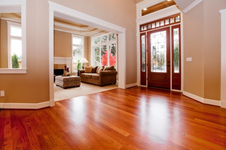 Wood floor cleaning by Quality Swan Cleaning Services